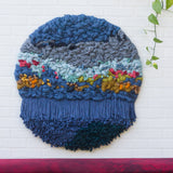 Large Round Woven Wall Hanging