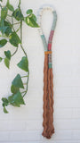 Copper Wrapped Rope Wall Hanging