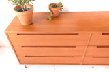 Danish Teak 6 Drawer Dresser