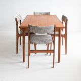 Danish Teak Expandable Dining Table