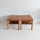Danish Teak End Tables