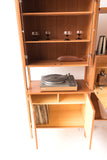 Danish Teak 3 Bay Wall Unit