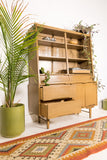 Mid Century Hutch by Stanley