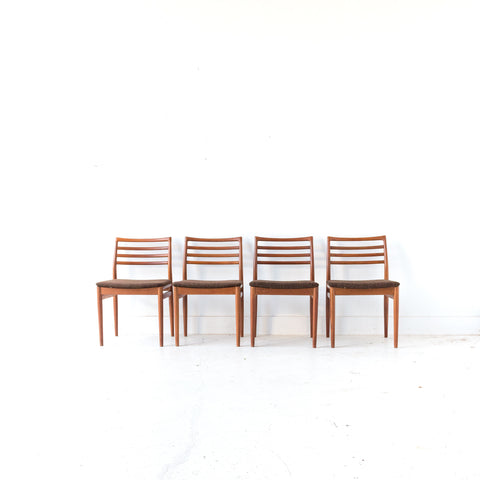 Set of 4 Erling Torvits Dining Chairs