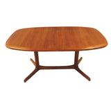 Danish Teak Dining Table & 6 Preben Schou Chairs