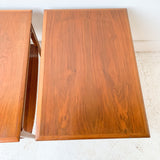 Pair of Mid Century Mersman End Tables
