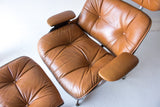 Eames Style Selig Lounge Chair and Ottoman