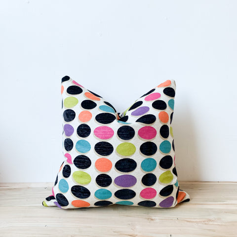 Polk Dot Pillow 18x18