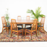 Arne Vodder for Falster Teak Expandable Dining Table