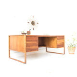 Mid Century Desk by Gunlocke