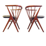 Danish Chairs by Hegle Sibast