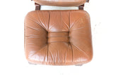 Ingmar Relling Recliner and Ottoman
