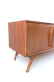Mid Century Walnut Sideboard/Media Cabinet
