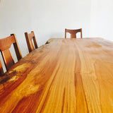 Live Edge Ambrosia Maple Dining Table