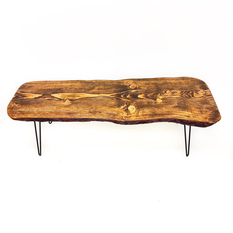 Live Edge Hemlock Coffee Table