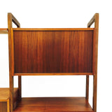 Mid Century Walnut Wall Unit
