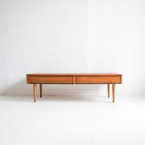 Mid Century Cherry Coffee Table