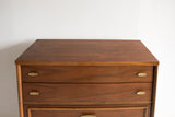 Mid Century Cherry Highboy Dresser