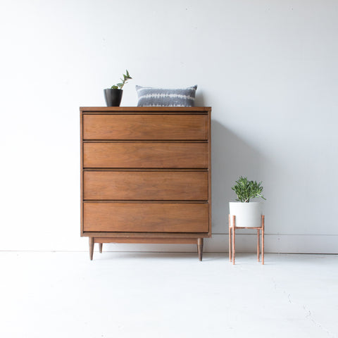 Mid Century Formica Top Highboy