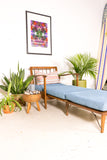 Mid Century Lounge Chair/Daybed