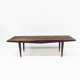 Mid Century Slat Bench/Coffee Table