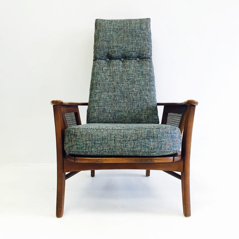 Mid Century High Back Chair