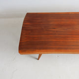 Mid Century Slab Coffee Table