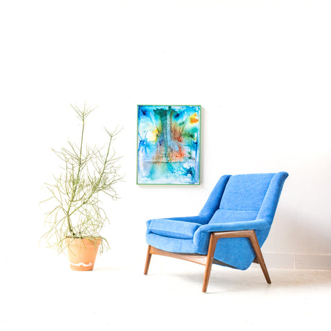 Mid Century Lounge Chair by Folke Ohlsson