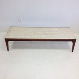 Travertine Coffee Table