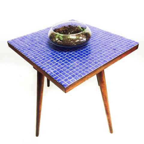 Mid Century Mosaic End Table