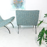 Pair of Milo Baughman Scoop Chairs