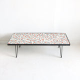 Mosaic Glass Tile Table #1