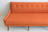 Orange Kroehler Sofa