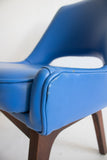 Blue Vinyl Chairs