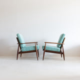 Pair of Richardson Nemschoff Lounge Chairs