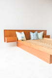 Queen Size Danish Teak Platform Bed