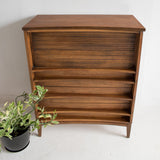 Sculpted Front Highboy Dresser