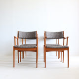 Set of Teak Dining Chairs