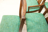 Set of 6 Mid Century Dining Chairs