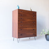 Walnut Highboy Dresser