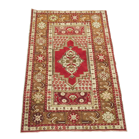 Vintage Turkish Anatolian Rug #2