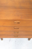 Petite Teak Chest of Drawers