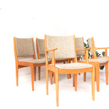 Set of 6 Teak Dining Chairs