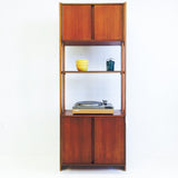Teak Single Bay Wall Unit