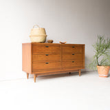 United 6 Drawer Dresser