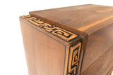 "United ""Tiki"" Highboy Dresser"