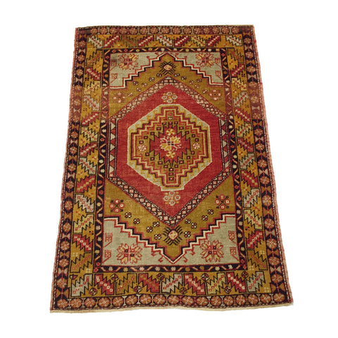 Vintage Turkish Anatolian Rug #1