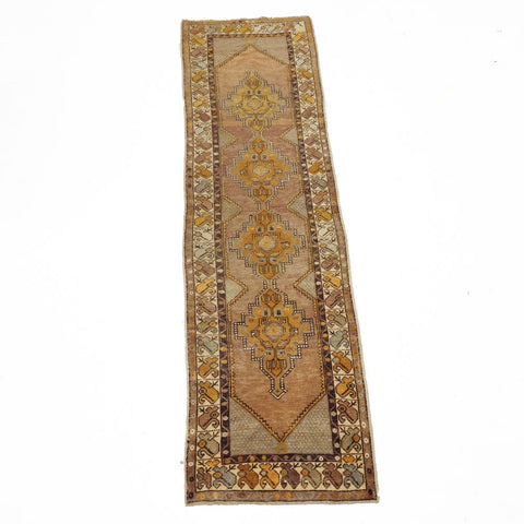 Vintage Turkish Anatolian Rug #4
