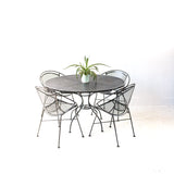 Salterini Hoop Chairs and Dining Table