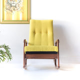 Mid Century Rocker Scoop Chair
